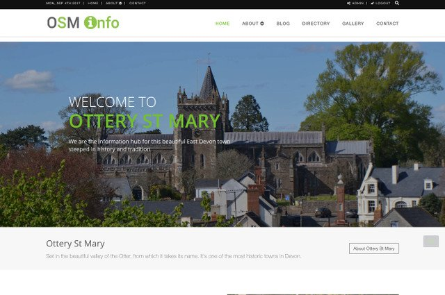 Ottery St Mary Info image